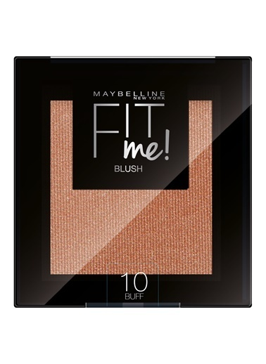 Maybelline Maybelline New York Fit Me Allık - 10 Buff Kahve